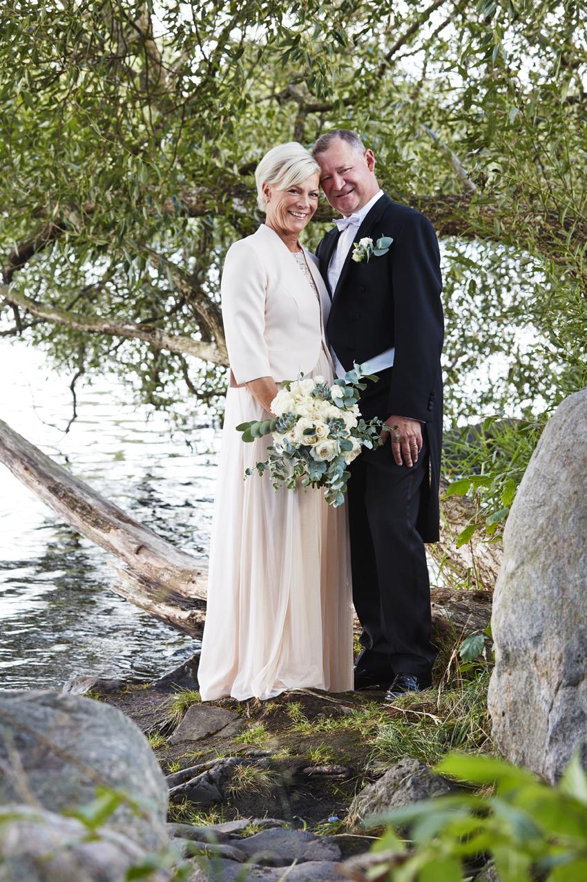 Bröllopsfotografering Christina & Magnus
